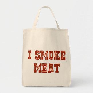 I Smoke Meat Grocery Tote Bag