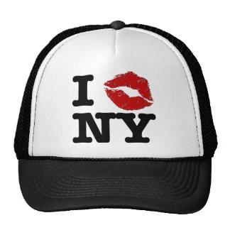 """I """"smooch"""" New York Hat"""