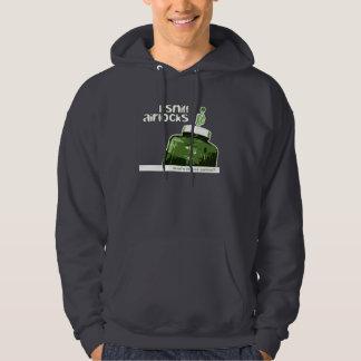 I Sniff Airlocks Green Homebrew Beer Carboy Hoodie