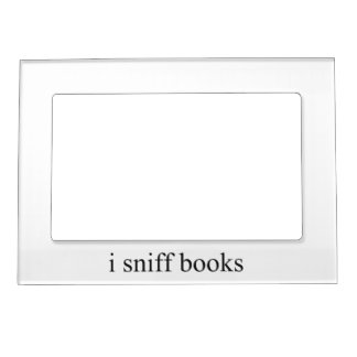 i sniff books magnetic picture frame