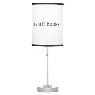 i sniff books table lamp