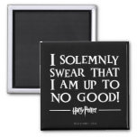 I Solemnly Swear 2 Inch Square Magnet