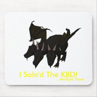 ¡I Solo'd el KBD! (Épocas múltiples) Alfombrilla De Raton