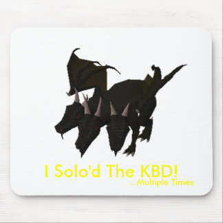 I Solo'd The KBD! (Multiple Times) Mouse Pad