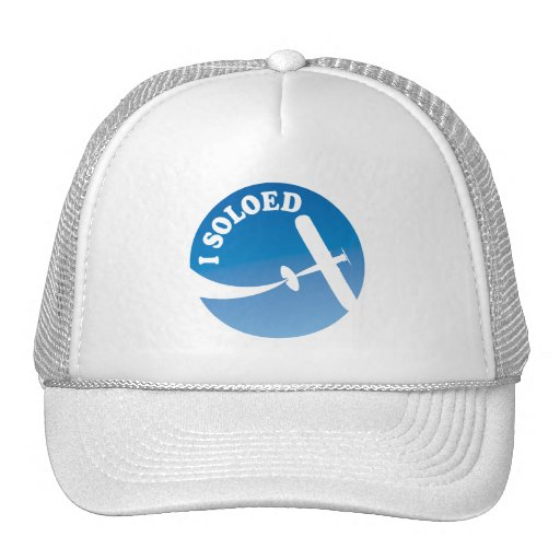 I Soloed & Airplane Graphic Mesh Hat