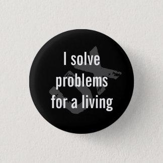 I solve problems button