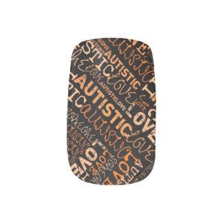 I❤️Someone Autistic Minx Minx Nail Wraps