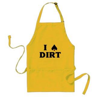 I (spade) Dirt Apron