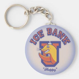 I Spank You Basic Round Button Keychain