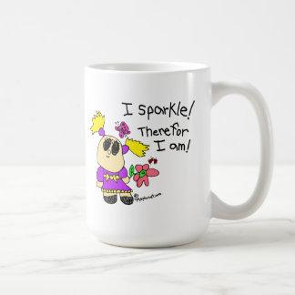 I Sparkle! Therefor I am! Classic White Coffee Mug