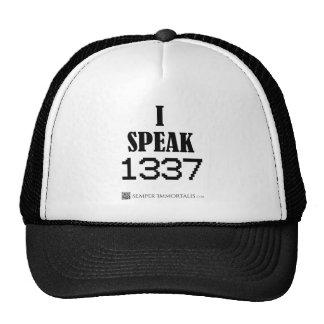 I Speak 1337 Trucker Hat