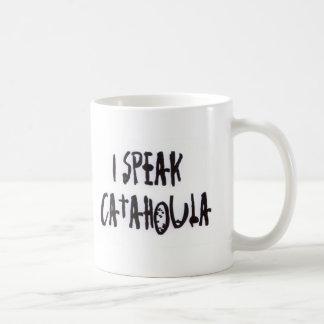 I Speak Catahoula Classic White Coffee Mug