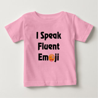 I Speak Emoji Baby T-Shirt