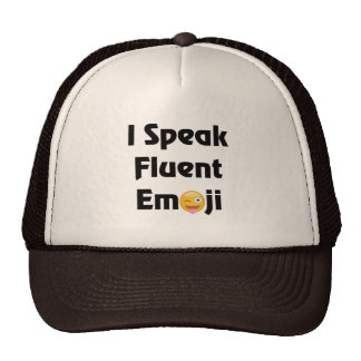 I Speak Emoji Trucker Hat