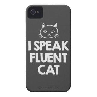 i-speak-fluent-cat-must-love-animals-tees-dark-t-s iPhone 4 case