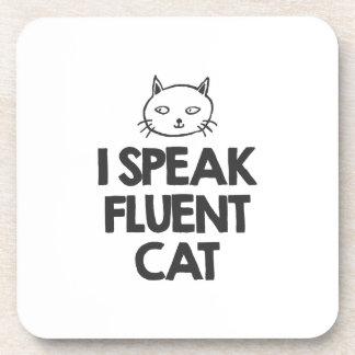 i-speak-fluent-cat-must-love-animals-tees-white-t- coaster