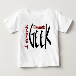 I Speak Fluent Geek Baby T-Shirt