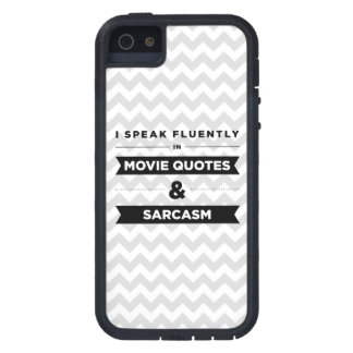 I Speak Fluently in Movie Quotes and Sarcasm Case For iPhone 5
