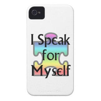 I Speak for Myself iPhone 4 Cases