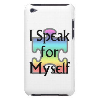 I Speak for Myself iPod Touch Case