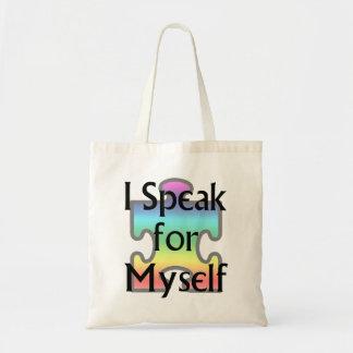 I Speak for Myself Tote Bag