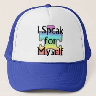 I Speak for Myself Trucker Hat