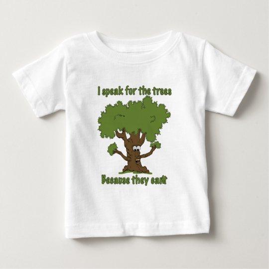 I speak for the trees baby T-Shirt