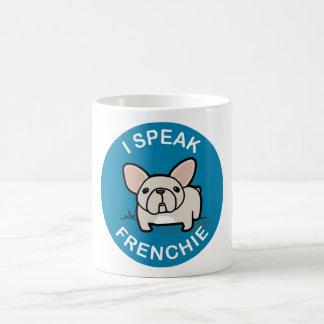 I Speak Frenchie - Blue Mugs