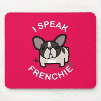 I Speak Frenchie - Pink Mouse Pad