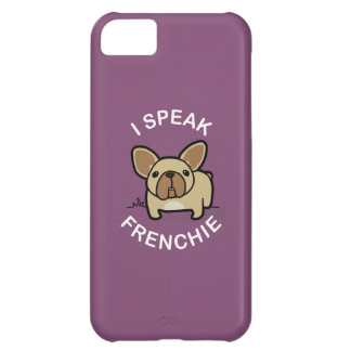 I Speak Frenchie - Purple Case For iPhone 5C