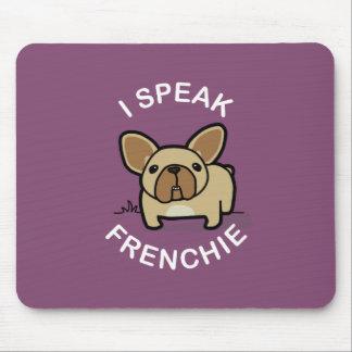 I Speak Frenchie - Purple Mouse Pad