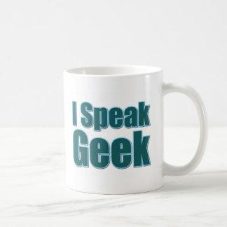 I Speak Geek Coffee Mug