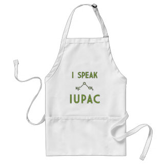 I Speak IUPAC Apron