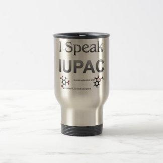 I Speak IUPAC Chemistry Nomenclature Travel Mug