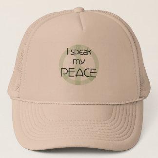 I Speak My Peace Trucker Hat