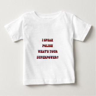 I SPEAK POLISH BABY T-Shirt
