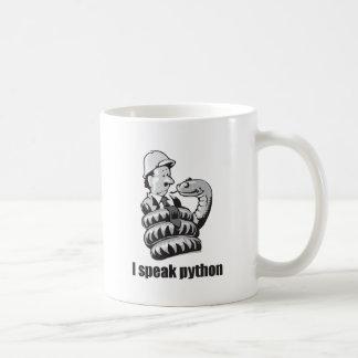 I Speak Python Coffee Mug