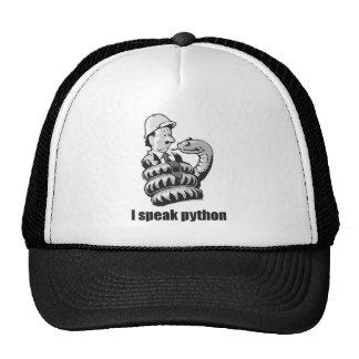 I Speak Python Trucker Hat