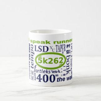 I speak runner. coffee mug