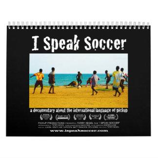 I Speak Soccer Calendar
