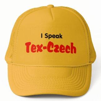 I Speak Tex-Czech hat