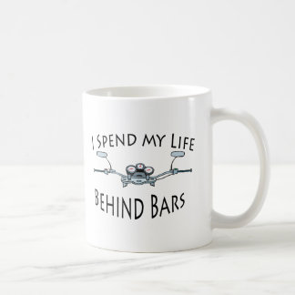 I Spend My Life Behind Bars Mugs