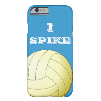 I SPIKE VOLLEYBALL iPhone 6 case