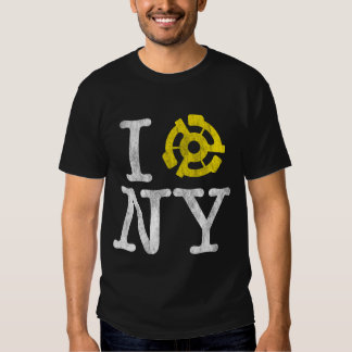 I Spin New York (Dark Distressed) T-Shirt