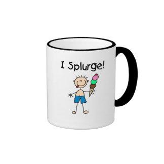 I Splurge Tshirts and Gifts Mugs