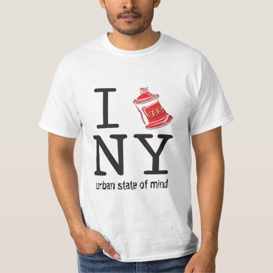 I Spray NY Graffiti T Shirt