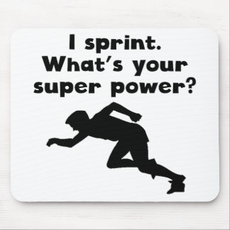 I Sprint Super Power Mousepads