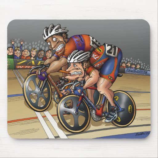 I Sprint, Therefore I Am! Mousepad