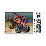 I Sprint, Therefore I Am! Postage Stamps