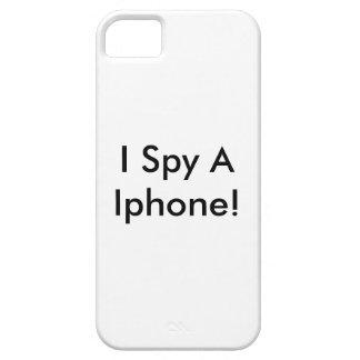 I Spy A Iphone Iphone Case